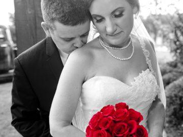 The Black and White Wedding Photos